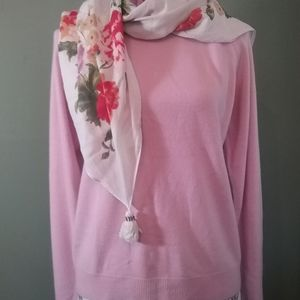 White Stag Pink Sweater